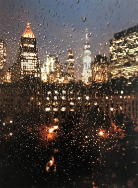 Rain Lower Manhattan